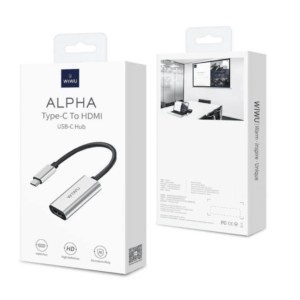 5 300x300 - Мульти Хаб Wiwu Alpha Type-c to HDMI