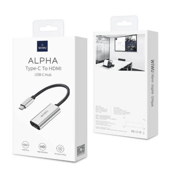 Мульти Хаб Wiwu Alpha Type-c to HDMI