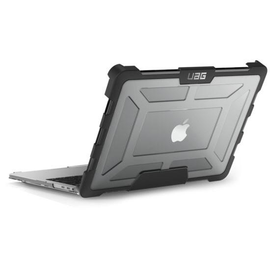 6aa8940b0eeac069994c1583db336f91 - Чехол UAG Plasma для MacBook Pro 15 (2016-2019) прозрачный (Ice)