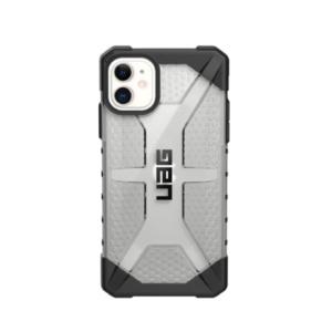 Противоударный чехол UAG PLASMA для iPhone 11 серый (Ice)