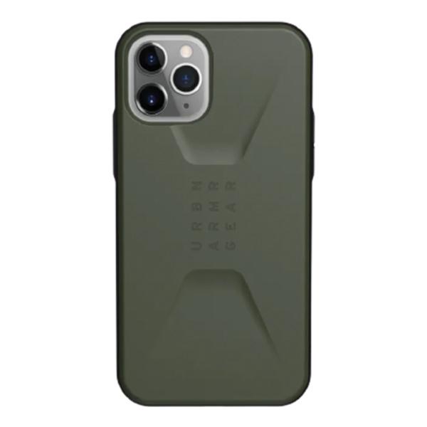 Чехол UAG CIVILIAN Series iPhone 11 Pro Max коричневый (Olive Drab)