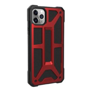 Чехол UAG MONARCH Series для iPhone 11 Pro красный (Crimson)