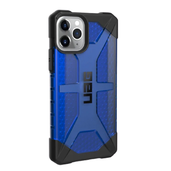 Чехол UAG PLASMA Series iPhone 11 Pro Max синий (Cobalt)