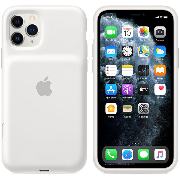 Чехол-аккумулятор Apple Smart Battery Case для iPhone 11 Pro White MWVM2ZM/A