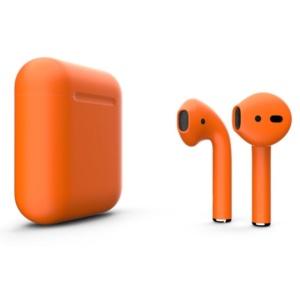 AirPods 2 g1009 300x300 - Беспроводные наушники Apple AirPods 2 Custom Edition оранжевые матовые