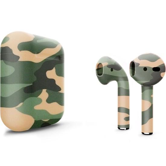 Беспроводные наушники Apple AirPods 2 Custom Edition камуфляжные