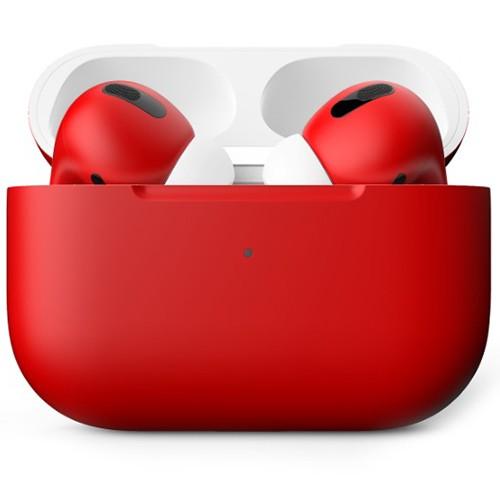 Беспроводные наушники Apple AirPods Pro Custom Edition красные матовые