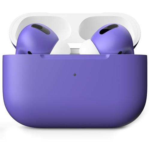 Беспроводные наушники Apple AirPods Pro Custom Edition фиолетовые матовые