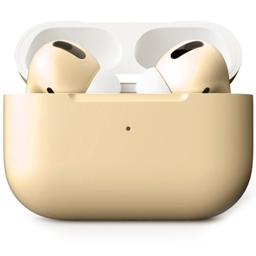 Беспроводные наушники Apple AirPods Pro Custom Edition телесные матовые