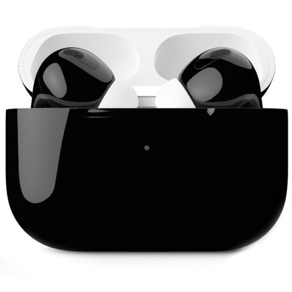 Беспроводные наушники Apple AirPods Pro Custom Edition чёрные глянцевые