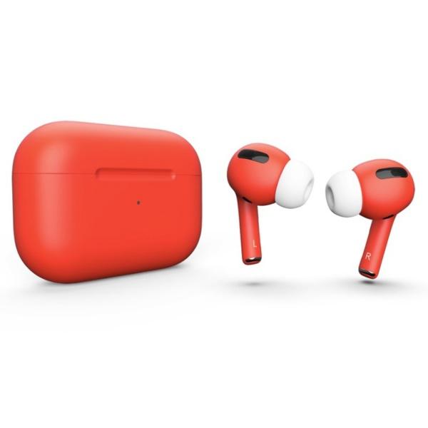 Беспроводные наушники Apple AirPods Pro Custom Edition коралловые матовые