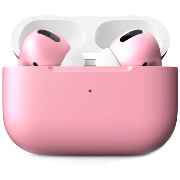 Беспроводные наушники Apple AirPods Pro Custom Edition нежно-розовые матовые