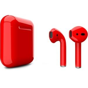 Apple AirPods 2 dddy27890 300x300 - Беспроводные наушники Apple AirPods 2 Custom Edition красные глянцевые