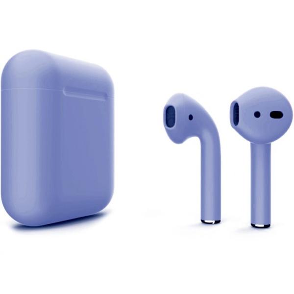 Беспроводные наушники Apple AirPods 2 Custom Edition фиолетовые матовые
