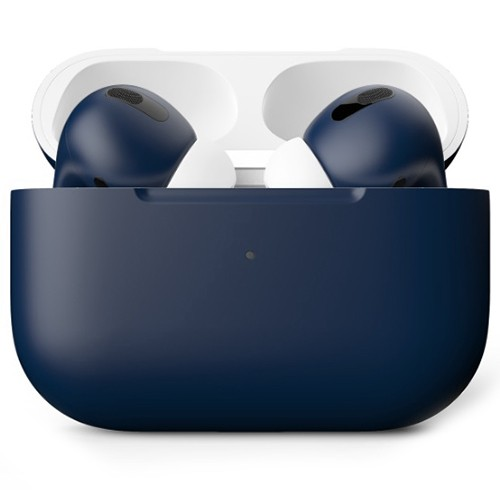 Беспроводные наушники Apple AirPods Pro Custom Edition тёмно-синие матовые