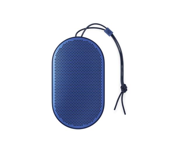 Bang Olufsen BeoPlay P2 Royal Blue 1 600x483 - Портативная акустика Bang & Olufsen BeoPlay P2 Royal Blue