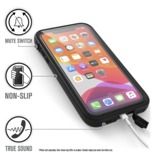 catipho11blkl j2 300x300 - Водонепроницаемый чехол Catalyst Waterproof Case for iPhone 11 Pro Max Черный CATIPHO11BLKL