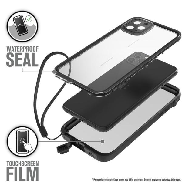 Водонепроницаемый чехол Catalyst Waterproof Case для iPhone 11 Pro Max Черный