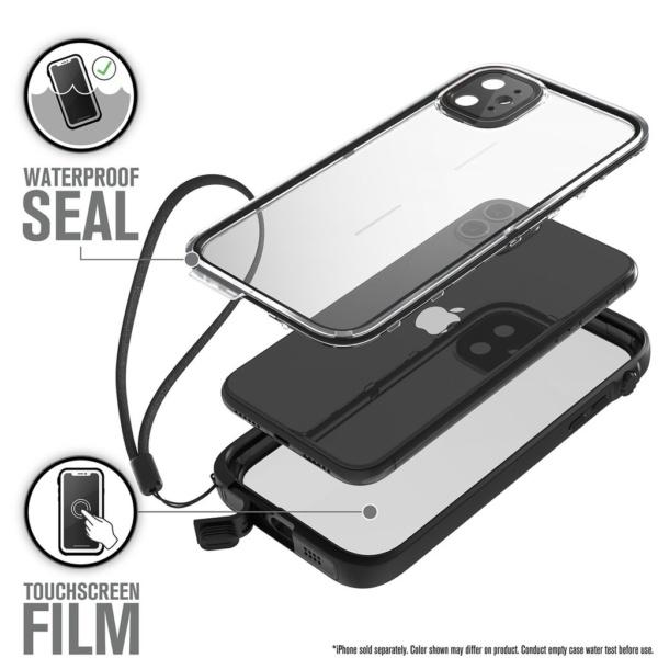 Водонепроницаемый чехол Catalyst Waterproof Case for iPhone 11 Черный