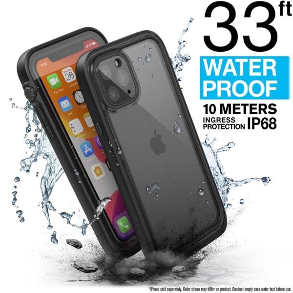 Водонепроницаемый чехол Catalyst Waterproof Case для iPhone 11 Pro Черный