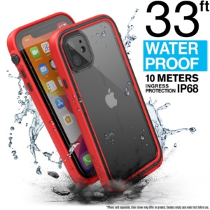 catipho11redm 11 300x300 - Водонепроницаемый чехол Catalyst Waterproof Case for iPhone 11 Красный CATIPHO11REDM
