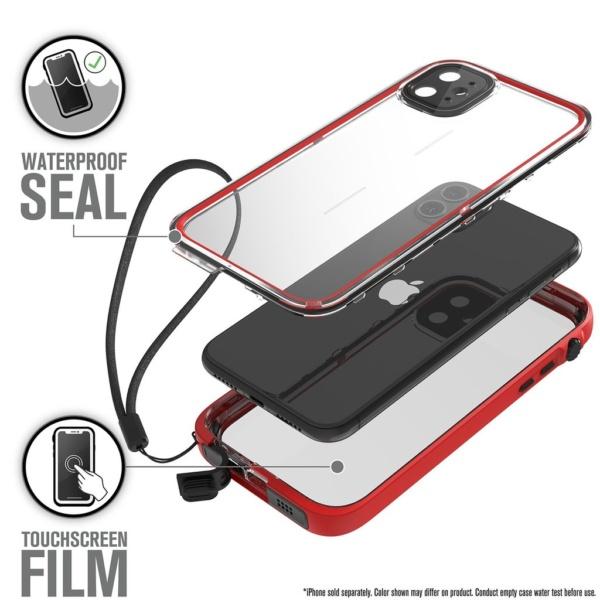 Водонепроницаемый чехол Catalyst Waterproof Case for iPhone 11 Красный