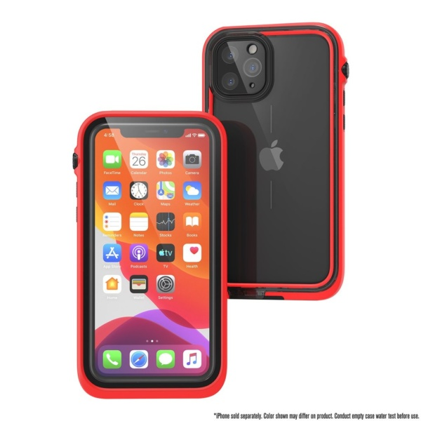 catipho11reds w5 600x600 - Водонепроницаемый чехол Catalyst Waterproof Case for iPhone 11 Pro Красный CATIPHO11REDS
