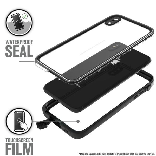 Водонепроницаемый чехол Catalyst Waterproof Case для iPhone XS Max Черный