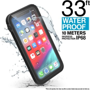 catiphoxblks 1 3 300x300 - Водонепроницаемый чехол Catalyst Waterproof Case for iPhone XS Черный Stealth CATIPHOXBLKS