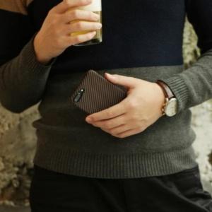 iphone 8 plus a2 300x300 - Карбоновый чехол Pitaka MagEZ Case (Кевлар) для iPhone 8 черно-коричневый в полоску