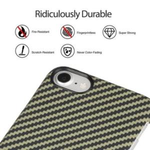 iphone 8 plus s2 300x300 - Карбоновый чехол Pitaka MagEZ Case (Кевлар) для iPhone 8 черно-зеленый в полоску
