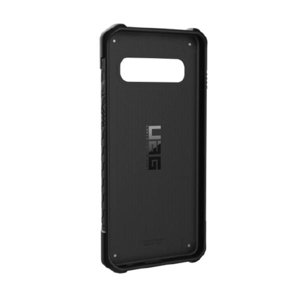 Чехол Uag Monarch для Samsung Galaxy S10 чёрный карбон (Carbon Fiber)