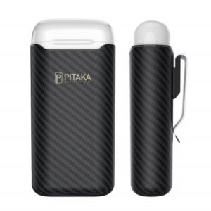 pitaka air pal 1 300x300 - Ультрасовременный Premium кевларовый чехол Pitaka Air Pal для AirPods/AirPods II, черный