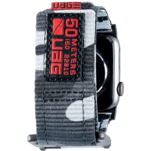 Ремень UAG Active Range Strap для Apple Watch 44/42 тёмный камуфляж (Midnight Camo)