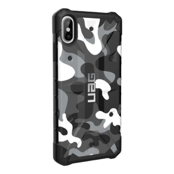 Чехол Uag Pathfinder SE для iPhone XS Max белый камуфляж (Arctic Camo)