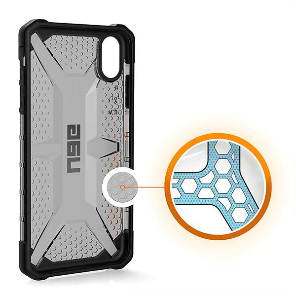 Чехол Uag Plasma для iPhone XS/X тонированный (Ash)