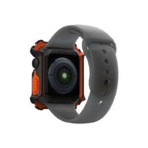 Чехол UAG Watch Case для Apple Watch 44 черно/оранжевый
