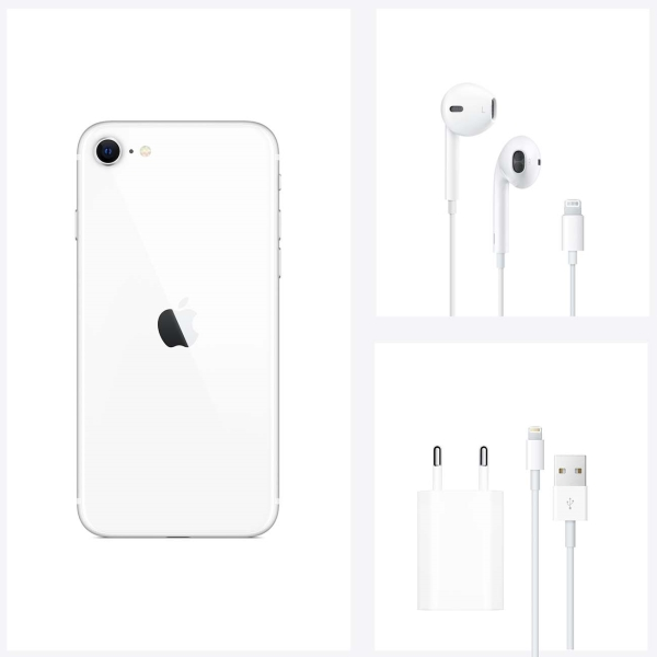 Apple iPhone SE 2020 256GB White РСТ