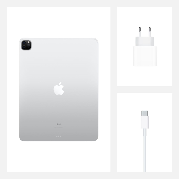 Планшет Apple iPad Pro 12.9 2020 512GB Wi-Fi+ Cell Silver US