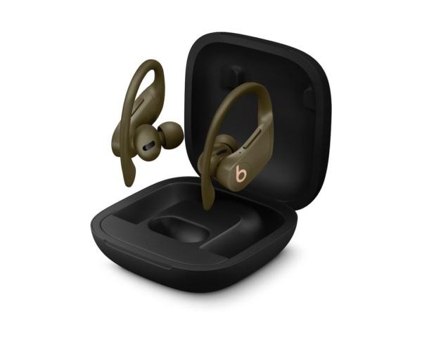 Беспроводные наушники- вкладыши Powerbeats Pro серия Totally Wireless Тёмно-оливковый
