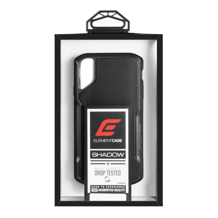 Чехол Element Case Shadow чехол для iPhone XR, черный (Black)