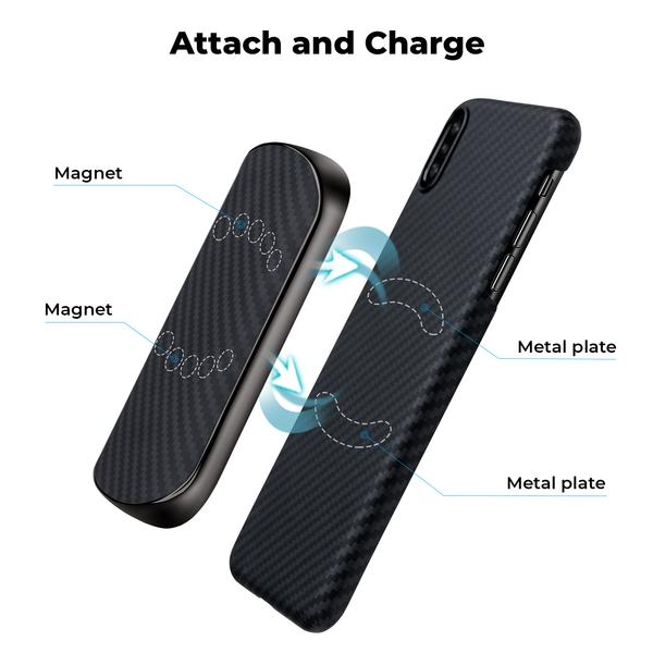 pitaka magez juice 6 - Беспроводное зарядное устройство с внешним аккумулятором Pitaka MagEZ Juice