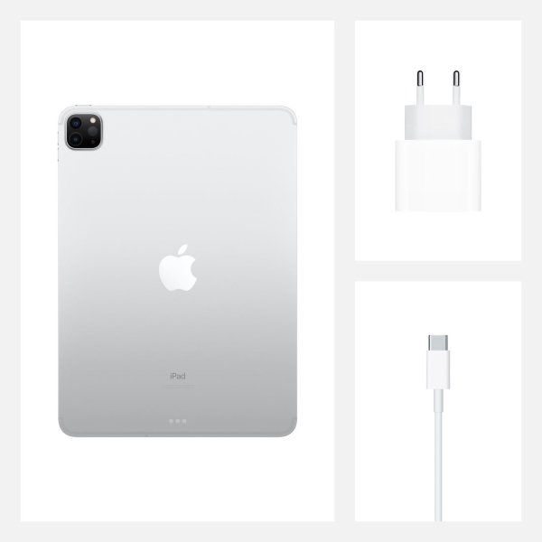 Планшет Apple iPad Pro 11 2020 128GB Wi-Fi Silver US