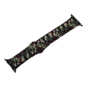 coteetci w45 color wh5279 cl 121 300x300 - Ремешок силиконовый COTEetCI W45 Color (WH5279-CL) для Apple Watch 44мм/ 42мм Army camouflage Армейский камуфляж