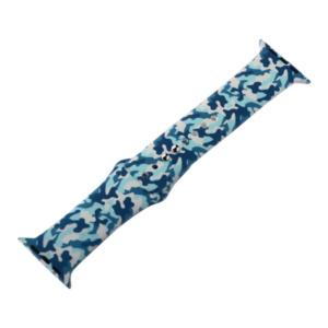 coteetci w45 color wh5279 hy 100 300x300 - Ремешок силиконовый COTEetCI W45 Color (WH5279-HY) для Apple Watch 44мм/ 42мм Navy camouflage Синий камуфляж