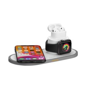 d 24006 707 300x300 - Беспроводное зарядное устройство Deppa 3в1 (D-24006) для Apple iPhone/ Watch (1-5ser)/ Air Pods 15W Белый