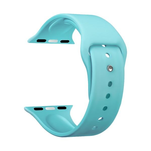 Ремешок силиконовый Deppa Band Silicone D-47134 для Apple Watch 44мм/ 42мм Мятный