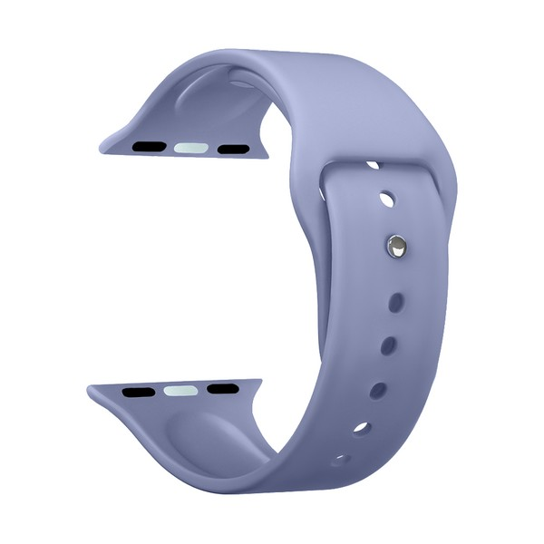 Ремешок силиконовый Deppa Band Silicone D-47128 для Apple Watch 40мм/ 38мм Лавандовый
