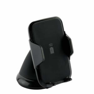 "Автомобильное беспроводное Qi зарядное устройство Deppa Crab Qi Fast Charge D-55155 для 3.5""-5.9"" (5-9V/ 1.5A 5-10W)"
