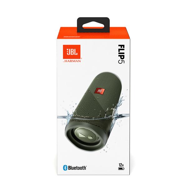 Беспроводная акустика JBL Flip 5 Green
